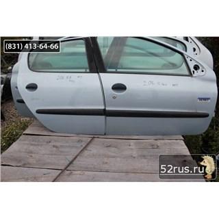 Дверь Передняя Правая Для Peugeot (Пежо) 206