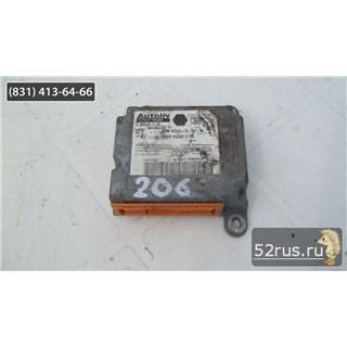 Блок Управления SRS, Air Bag Для Peugeot (Пежо) 206