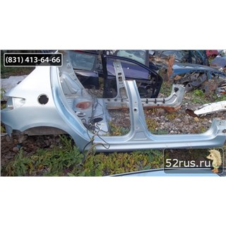 Крыло Заднее Правое Для Peugeot (Пежо) 206