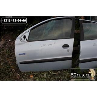 Дверь Передняя Левая Для Peugeot (Пежо) 206
