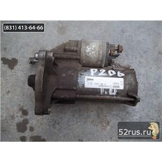 Стартер Для Peugeot (Пежо) 206 C Двигателем 1,4
