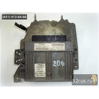 Блок Управления Двигателем (ЭБУ, Мозги) Для Peugeot (Пежо) 206