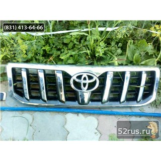 Решетка Радиатора Для Toyota Land Cruiser Prado