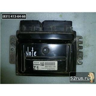Блок Управления Управления Двигателем (ЭБУ, Мозги) Для Nissan Note